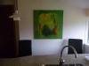 abstrakt grøn komposition
