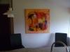 rød og pink komposition 80x80